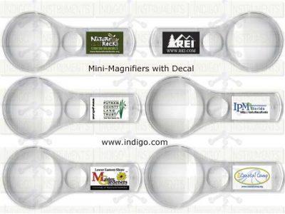 Plastic Minimagnifiers-Full Color Decals