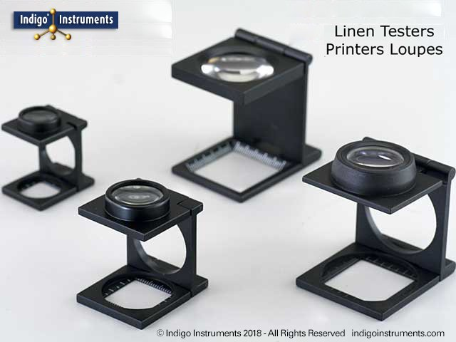 Linen tester-printer's loupe