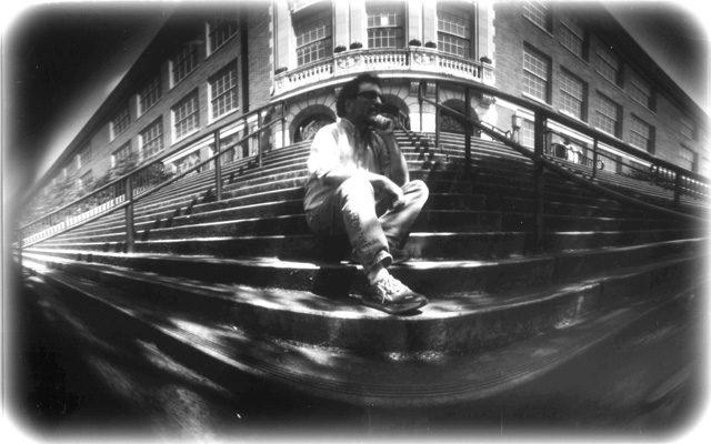 Dan Pickard Pinhole Photograph Self Portrait-HS
