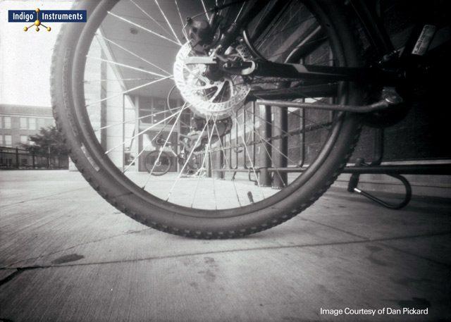 Bicycle Pinhole Photograph