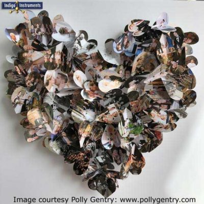 Polly Gentry Heart Art: HeARTworks.