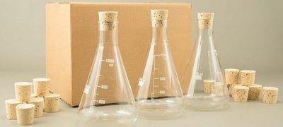 1000ml Erlenmeyer Flask Cork Bundle