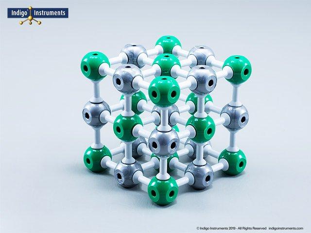 NaCl Molecular Model