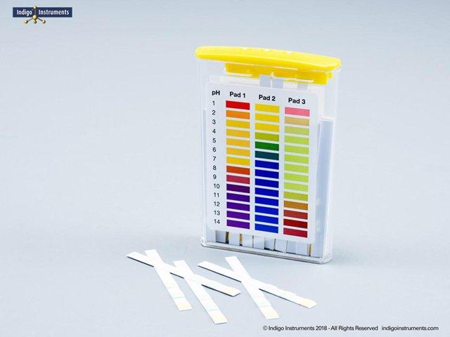 Wide Range pH Test Strips