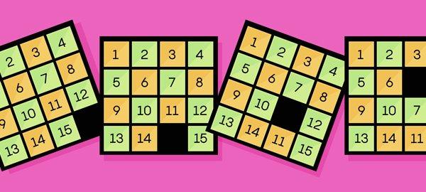 Puzzle 15 randomness