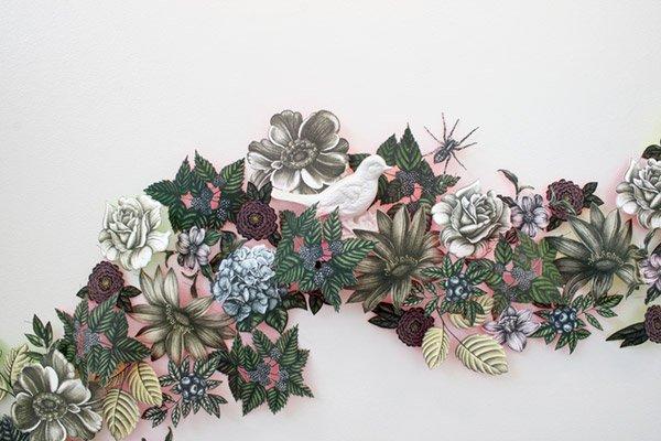 Garland Insect Pin Artwork