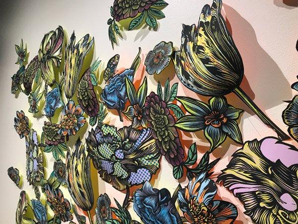 Tulipmania Insect Pin Artwork